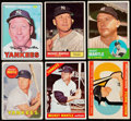 Baseball Cards:Lots, 1960's Topps Mickey Mantle Collection (6). ...