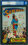 Silver Age (1956-1969):Superhero, Superman #184 (DC, 1966) CGC NM 9.4 Off-white pages.