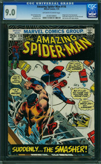 The Amazing Spider-Man #116 (Marvel, 1973) CGC VF/NM 9.0 OFF-WHITE TO WHITE pages