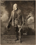 "Photography:Studio Portraits, William F. ""Buffalo Bill"" Cody: Signed Studio Portrait withCharming Inscription...."