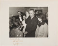 Autographs:U.S. Presidents, Lyndon B. Johnson: Signed Iconic Air Force One Swearing-In Photograph....
