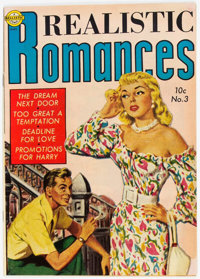 Realistic Romances #3 (Avon, 1951) Condition: FN/VF