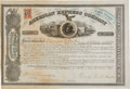 Transportation:Railroad, Henry Wells and William Fargo: Signed American Express Stock Certificate. ...