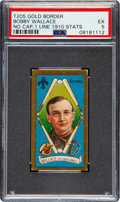Baseball Cards:Singles (Pre-1930), 1911 T205 Honest Long Cut Bobby Wallace (No Cap-One Line of 1910 Stats) PSA EX 5. ...