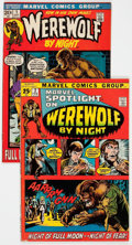 Bronze Age (1970-1979):Horror, Werewolf by Night-Related Group of 2 (Marvel, 1972).... (Total: 2Comic Books)