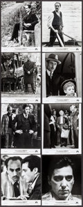 "Movie Posters:Crime, The Godfather Part II (Paramount, 1974). Photos (21) (8"" X 10"").Crime.. ... (Total: 21 Items)"