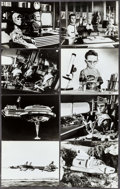"""Movie Posters:Science Fiction, Thunderbirds Are Go (United Artists, 1968). Photos (25) (8"""" X 10"""").Science Fiction.. ... (Total: 25 Items)"""