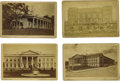 "Photography:Cabinet Photos, Four Vintage J. F. Jarvis Cabinet Cards of Government Buildings. Agroup of four cabinet cards, 6.5"" x 4.25"", published by J...(Total: 4 )"