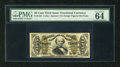 Fractional Currency:Third Issue, Fr. 1324 50c Third Issue Spinner PMG Choice Uncirculated 64 EPQ. As the grading statistics begin to become available, the tr...
