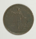 Australian Tokens: , Australian 19th Century Merchant Token Group Lot. Includes ahalfpenny issued in 1854 by James Nokes, Grocer, Melbourne, KM ...(Total: 3 tokens)