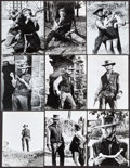 """Movie Posters:Western, Two Mules for Sister Sara (Universal, 1970). Photos (17) (approx. 7.5"""" X 9.5"""") & Mini Lobby Cards (4) (8"""" X 10""""). Western.. ... (Total: 21 Items)"""