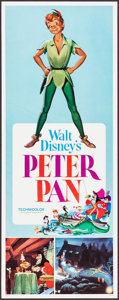 """Movie Posters:Animation, Peter Pan & Other Lot (Buena Vistas, R-1976). Inserts (2) (14""""X 36""""). Animation.. ... (Total: 2 Items)"""