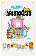"Movie Posters:Animation, The Aristocats & Others Lot (Buena Vista, R-1980). One Sheets(2) (27"" X 41"") Paul Wenzel Artwork, & British Front of House... (Total: 10 Items)"