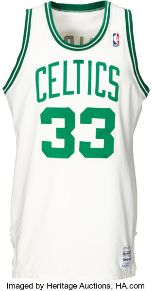 a16725f333f Circa 1986-87 Larry Bird Game Worn Boston Celtics Uniform ...