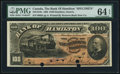 Canadian Currency, Hamilton, ON- Bank of Hamilton $100 June 1, 1892 Ch. # 345-16-10S Specimen.. ...