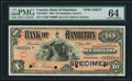 Canadian Currency, Hamilton, ON- Bank of Hamilton $10 January 2, 1904 Ch. # 345-18-08SSpecimen.. ...