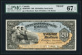 Canadian Currency, Halifax, NS- Merchants' Bank of Halifax $20 Jan. 1, 1898 Ch. # 465-20-18P Face Proof.. ...