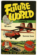 Golden Age (1938-1955):Science Fiction, Future World Comics #1 (George W. Dougherty, 1946) Condition:VF-....