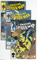 Modern Age (1980-Present):Superhero, The Amazing Spider-Man Box Lot (Marvel, 1985-96) Condition: AverageVF/NM. This box lot includes issues 265, 302, 303, 304, ...