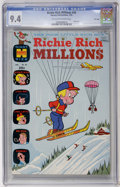 Bronze Age (1970-1979):Cartoon Character, Richie Rich Millions #39 File Copy (Harvey, 1970) CGC NM 9.4Off-white to white pages....