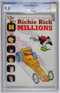 Bronze Age (1970-1979):Cartoon Character, Richie Rich Millions #41 File Copy (Harvey, 1970) CGC NM/MT 9.8 Off-white to white pages....