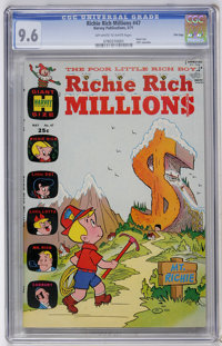 Richie Rich Millions #47 File Copy (Harvey, 1971) CGC NM+ 9.6 Off-white to white pages