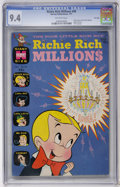Bronze Age (1970-1979):Cartoon Character, Richie Rich Millions #48 File Copy (Harvey, 1971) CGC NM 9.4Off-white pages....