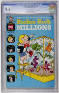Bronze Age (1970-1979):Cartoon Character, Richie Rich Millions #50 File Copy (Harvey, 1971) CGC NM 9.4Off-white to white pages....