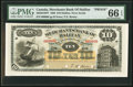 Canadian Currency, Halifax, NS- Merchants' Bank of Halifax $10 July 1, 1880 Ch. #465-20-10FP Face Proof.. ...