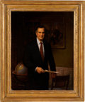 Political:3D & Other Display (1896-present), George H. W. Bush: Oil on Canvas Study for the Official White House Portrait....
