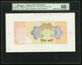 Canadian Currency, Hamilton, ON- Bank of Hamilton $25 1922 Ch, #345-22-06 PrintersProgressive Proof Color Tint Book of Five Examples.