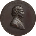 Political:Tokens & Medals, Andrew Johnson: Handsome U.S. Mint Medal by Barber....