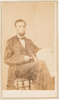 Photography:CDVs, Abraham Lincoln: Carte-de-Visite O-72....