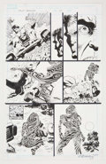 Original Comic Art:Panel Pages, Paul Gulacy and Rain Beredo True Believers #1 Page 13 Original Art (Marvel, 2008)....