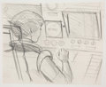 Animation Art:Production Drawing, Alex Toth Space Angel Crystal Mace Animation IllustrationOriginal Art (Cambria Productions, c. 1962-64). ...