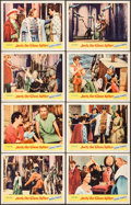 """Movie Posters:Fantasy, Jack the Giant Killer & Other Lot (United Artists, 1962). LobbyCard Set of 8 (2 sets) (11"""" X 14""""). Fantasy.. ... (Total: 16 Items)"""