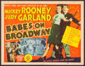 "Movie Posters:Musical, Babes on Broadway (MGM, 1941). Title Lobby Card (11"" X 14""). Musical.. ..."