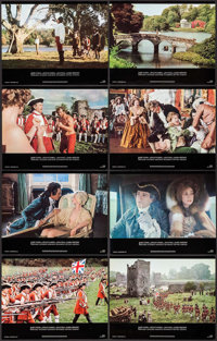 "Barry Lyndon (Warner Brothers, 1975). Lobby Cards (8) (11"" X 14""). Drama. ... (Total: 8 Items)"