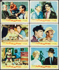 "Movie Posters:Comedy, It's a Mad, Mad, Mad, Mad World (United Artists, 1963). Lobby Cards(6) (11"" X 14""). Comedy.. ... (Total: 6 Items)"