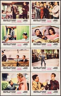 "The Pink Panther (United Artists, 1964). Lobby Card Set of 8 (11"" X 14""). Comedy. ... (Total: 8 Items)"