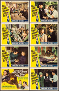 "Movie Posters:Drama, All That Money Can Buy (RKO, 1941). Lobby Card Set of 8 (11"" X14""). Drama.. ... (Total: 8 Items)"