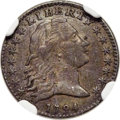 Early Half Dimes, 1794 H10C V-4, LM-4, R.4 -- Obverse Scratched -- NGC Detai...