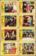 """Movie Posters:Crime, Vice Squad (United Artists, 1953). Very Fine-. Lobby Card Set of 8 (11"""" X 14""""). Crime.. ... (Total: 8 Items)"""
