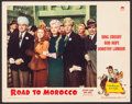 """Movie Posters:Comedy, Road to Morocco (Paramount, 1942). Lobby Card (11"""" X 14""""). Comedy....."""