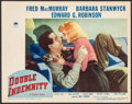 "Movie Posters:Film Noir, Double Indemnity (Paramount, 1944). Lobby Card (11"" X 14""). FilmNoir.. ..."