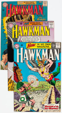 Hawkman #1-3 Group (DC, 1964) Condition: Average VG/FN.... (Total: 3 Comic Books)