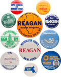 Political:Pinback Buttons (1896-present), Ronald Reagan: Assorted State and Regional Buttons....