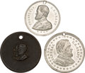 Political:Tokens & Medals, Ulysses S. Grant: Trio of Medals....