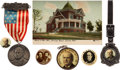 Political:Pinback Buttons (1896-present), William Jennings Bryan: Seven Assorted Items....