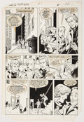 Original Comic Art:Panel Pages, Greg LaRocque and Jim Mooney Web of Spider-Man #1 Story Page5 Original Art (Marvel, 1985)....